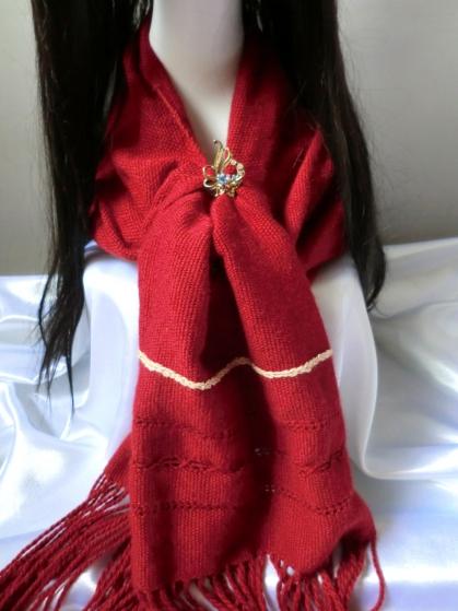 Cashmere Wrap With Handspun Muga Silk