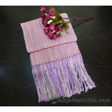 Pink Variegated Silk Scarf
